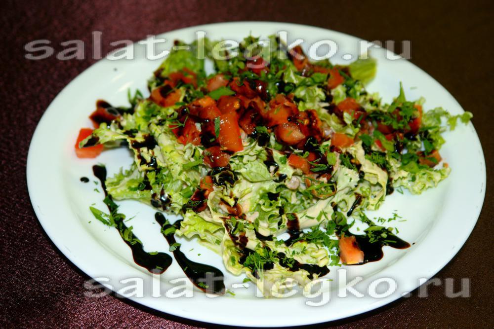 салат с винным уксусом рецепты
