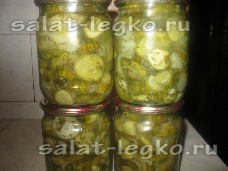 рецепты простых салатов холодная с фото