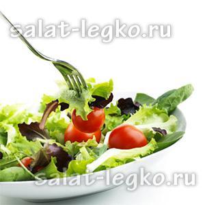 простые рецепты салатов на скорую