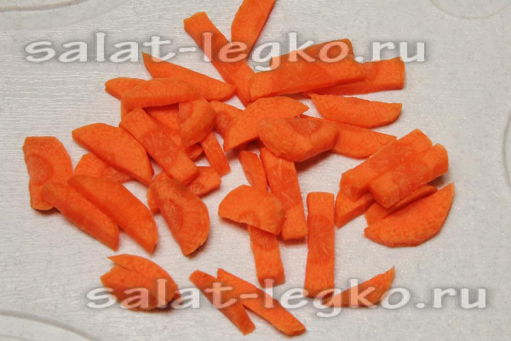морковь и брокколи рецепт салата