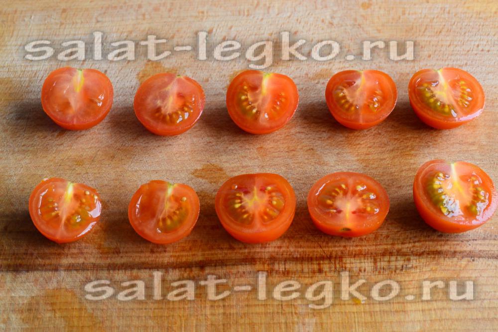 рецепт салатов из перепелиными яйцами