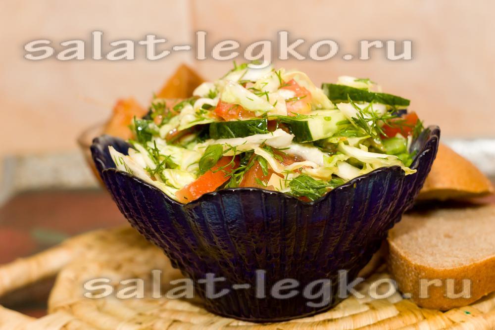 Рецепт Капуста в быстром маринаде с чесноком на