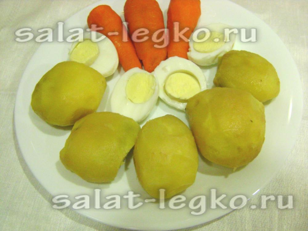 рецепт салата из капусты моркови перца с уксусом