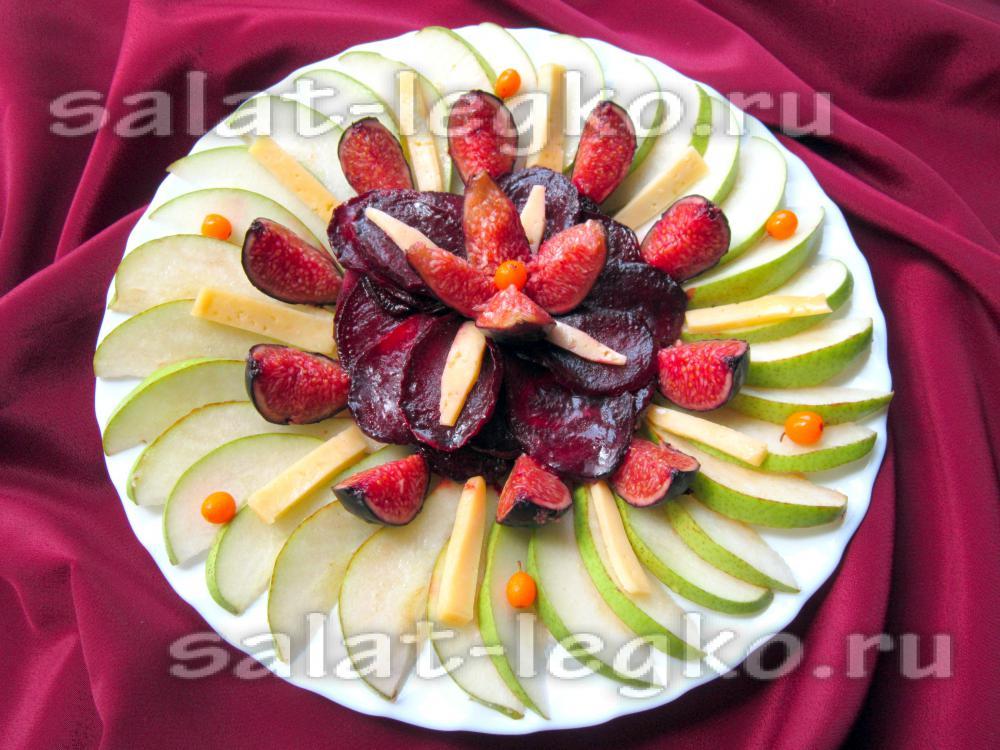 эксклюзивный салат рецепт и фото