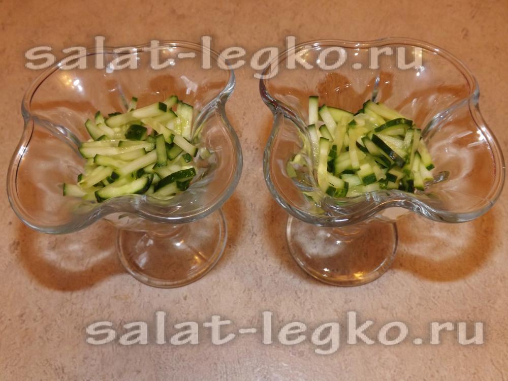 рецепт салата из копченой колбасы кукурузы