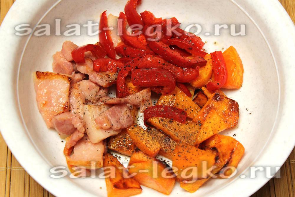 Салат с яйцом пашот и беконом рекомендации