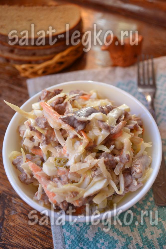 Рецепт салата с опятами маринованными 86