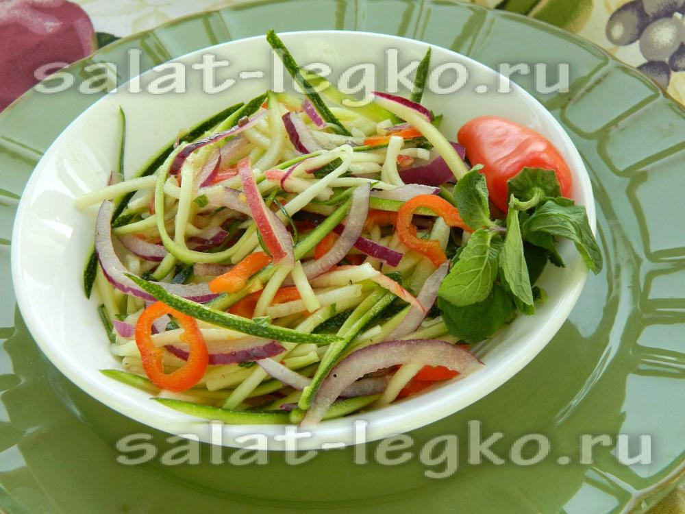 рецепт салата из огурцов и помидор и колбасы
