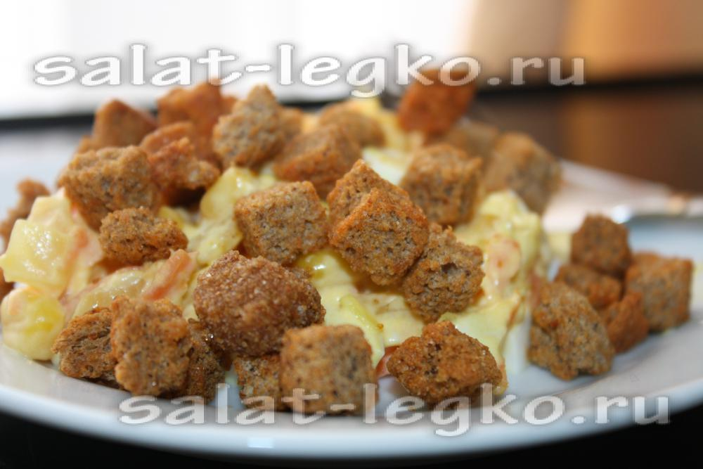 кукурузный салат рецепт с крабовыми палочками и