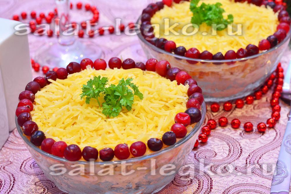рецепт салата с сухариками и курицей с капустой