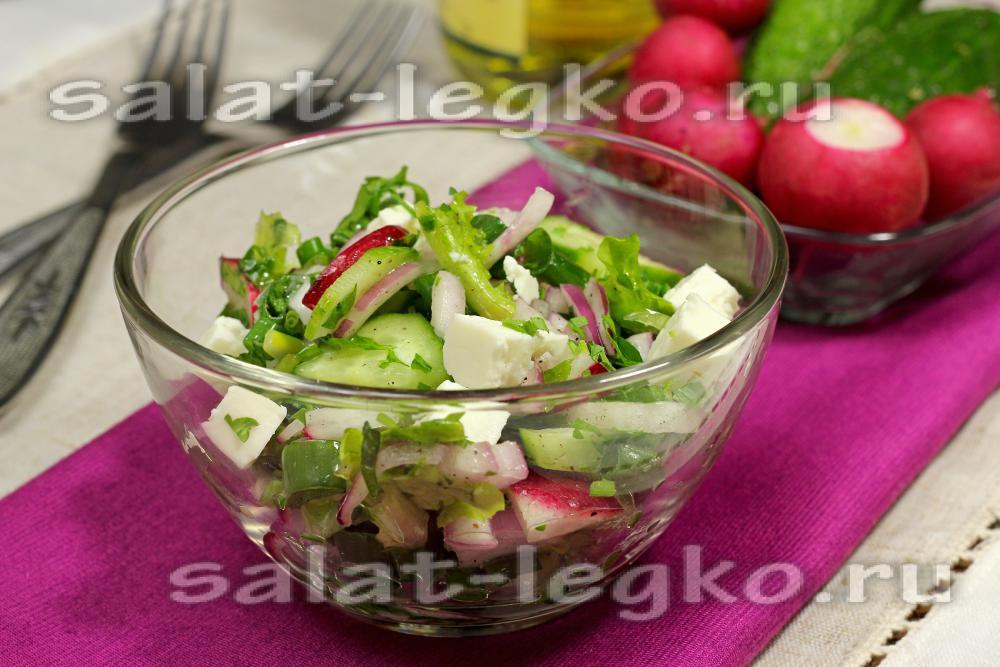 Салат с грибами свежими