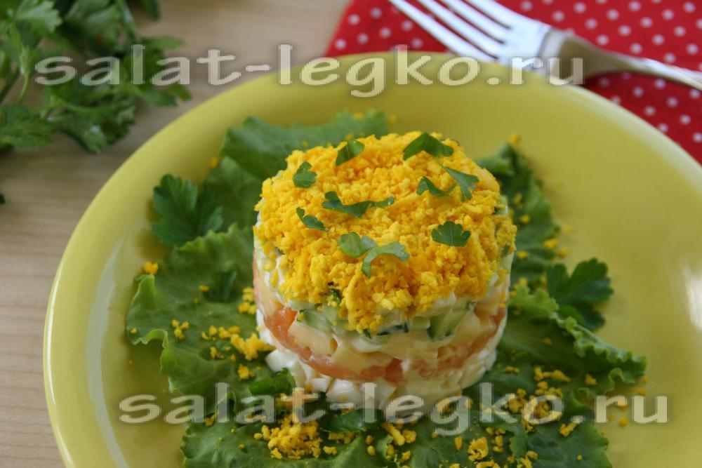 Салат с форелью слабосоленой рецепты