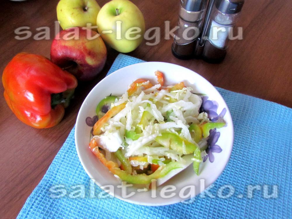 Одноклассники салат из огурцов на зиму