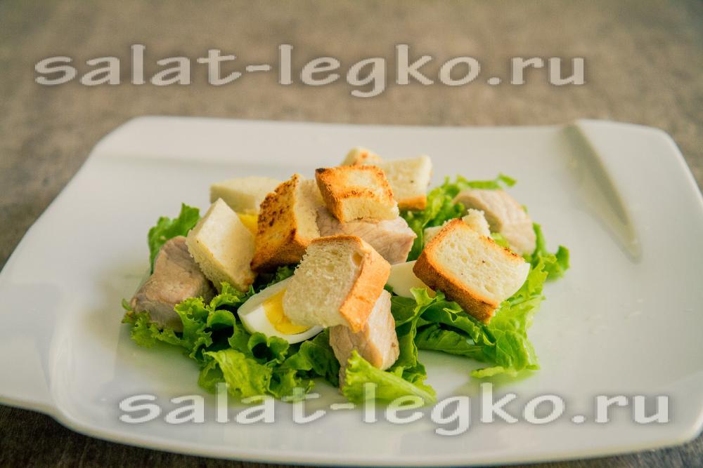рецепт салата з спаржевою фасолью