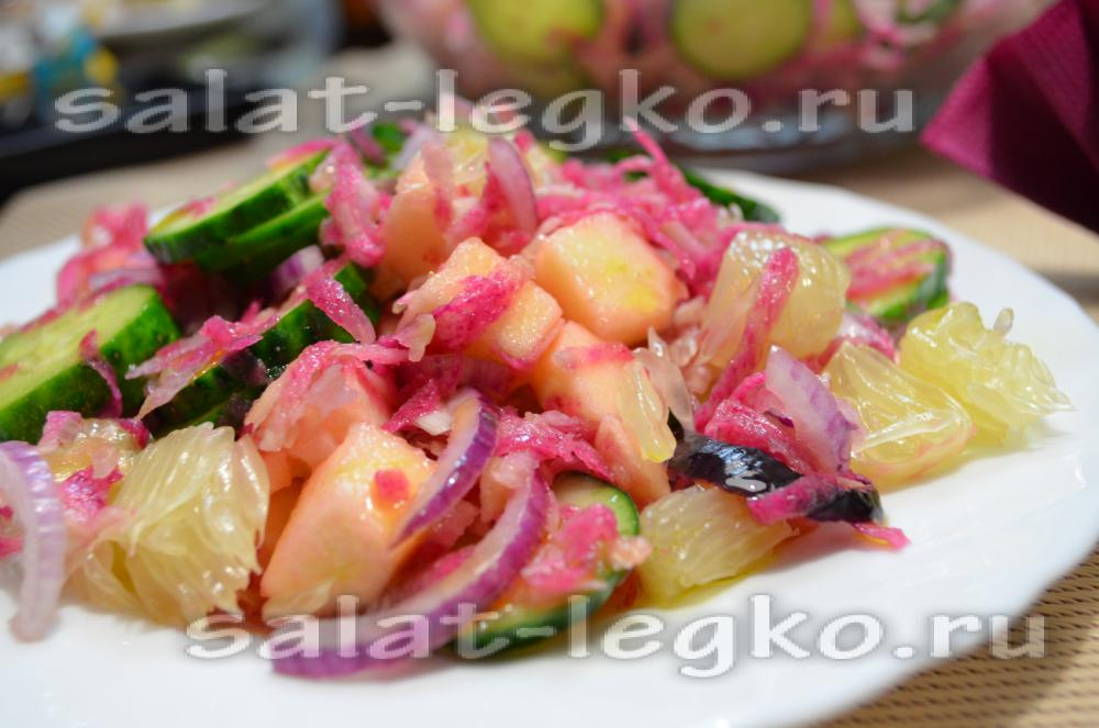 Салат с памелой рецепт