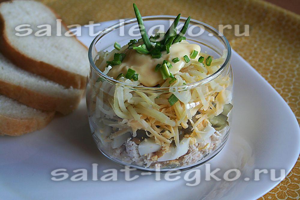 китайский салат из огурцов и говядины рецепт