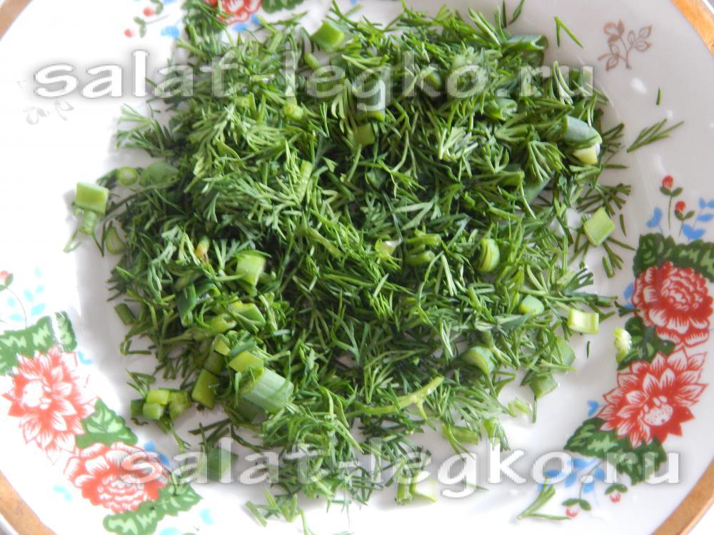 Как сажать укроп и салат