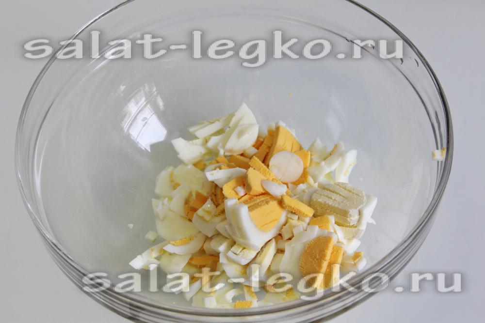 Зимний салат рецепт со свежим