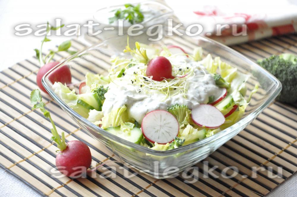 рецепт зимнего салата с капустой