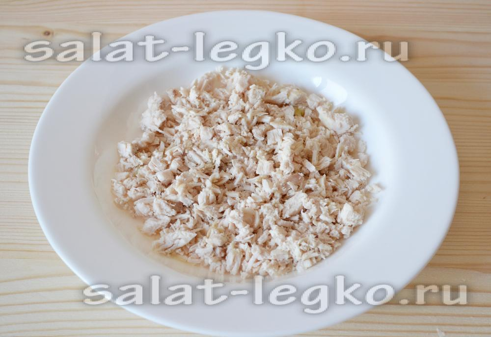 Рецепт салата подсолнух с пошагово 157
