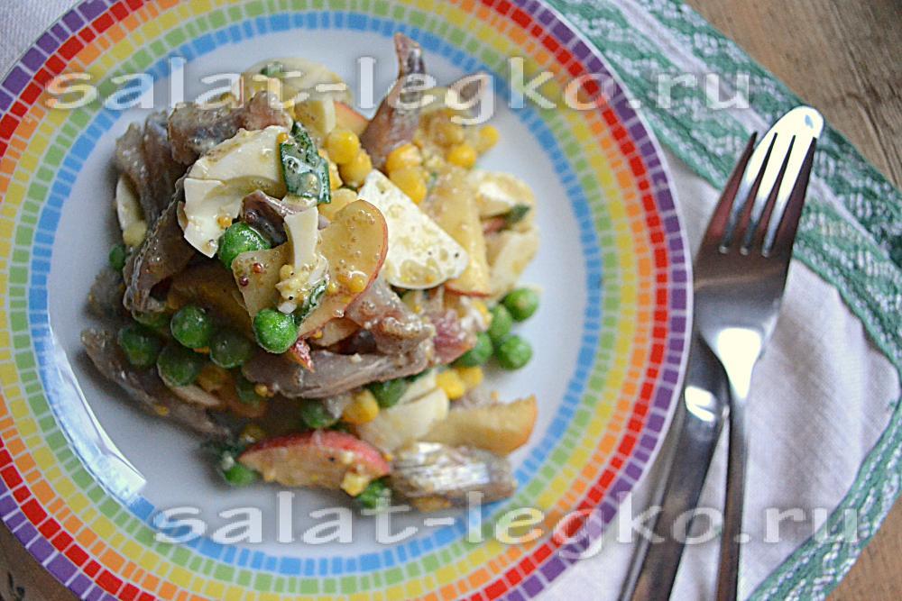 Блюда из соленой сельди рецепты с фото