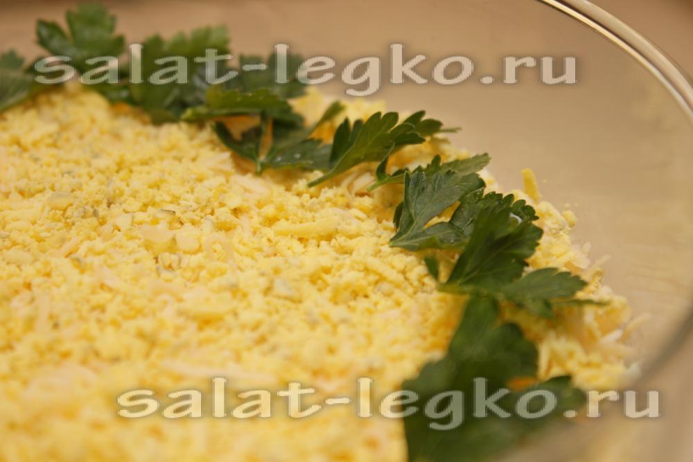 Салат мимоза с сардинами рецепт