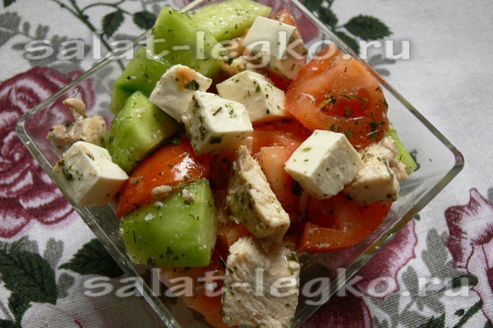 рецепт салата шампиньонами без курицы #10
