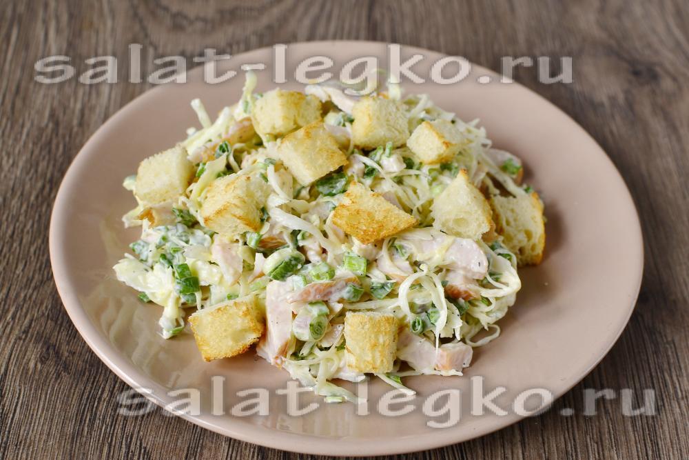 рецепт салата ежик с ананасом