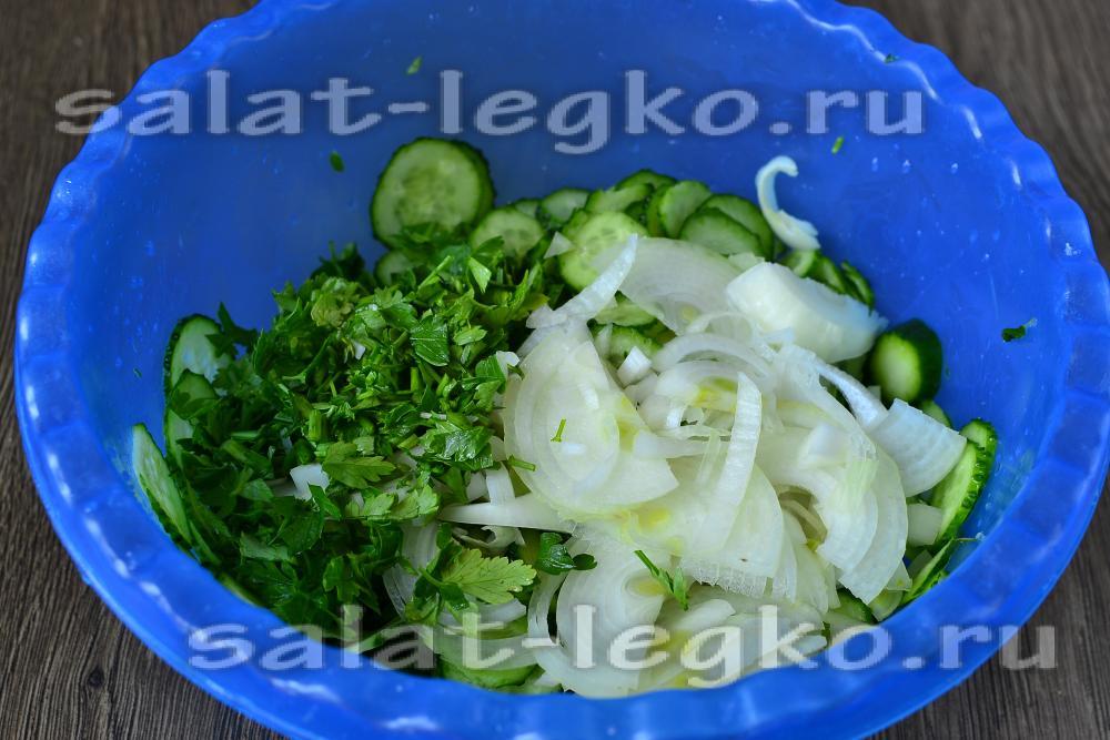 Салат нежинский фото