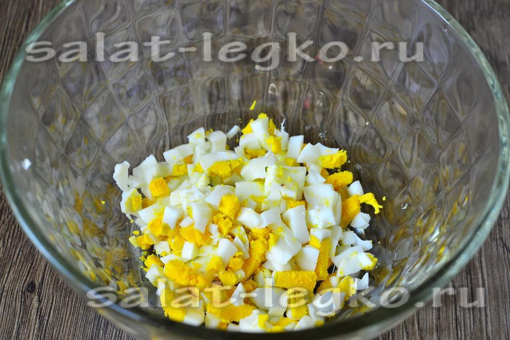 салат с чесноком рецепт с фото очень вкусный