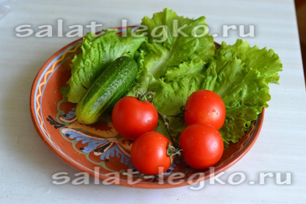 рецепты салатов из вареных овощей с фото