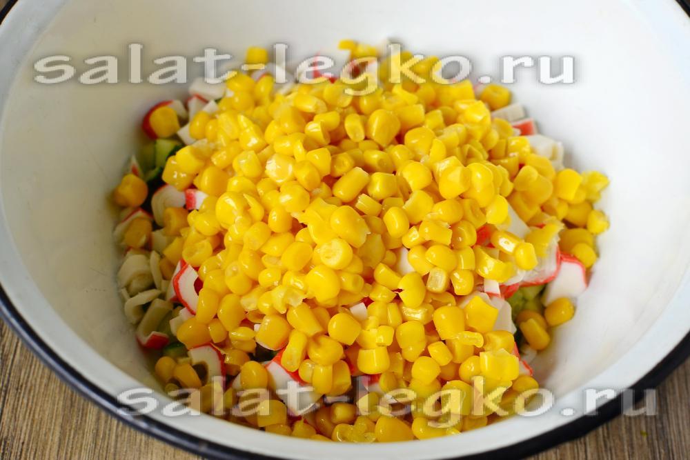 салат хрустяшка рецепт с фото