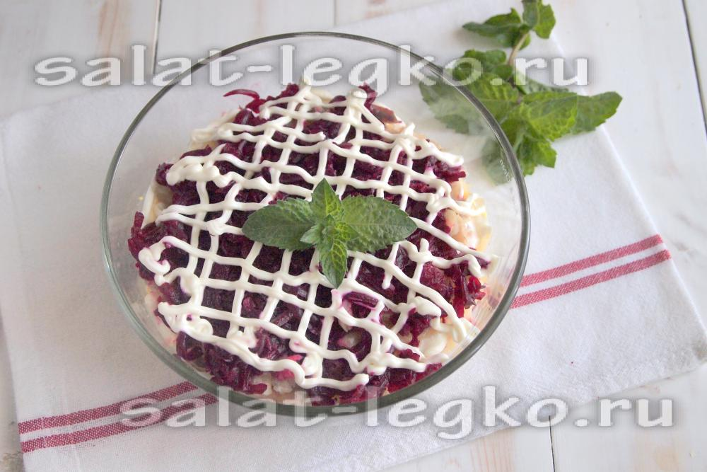 салат с вареной рыбой рецепт с фото очень