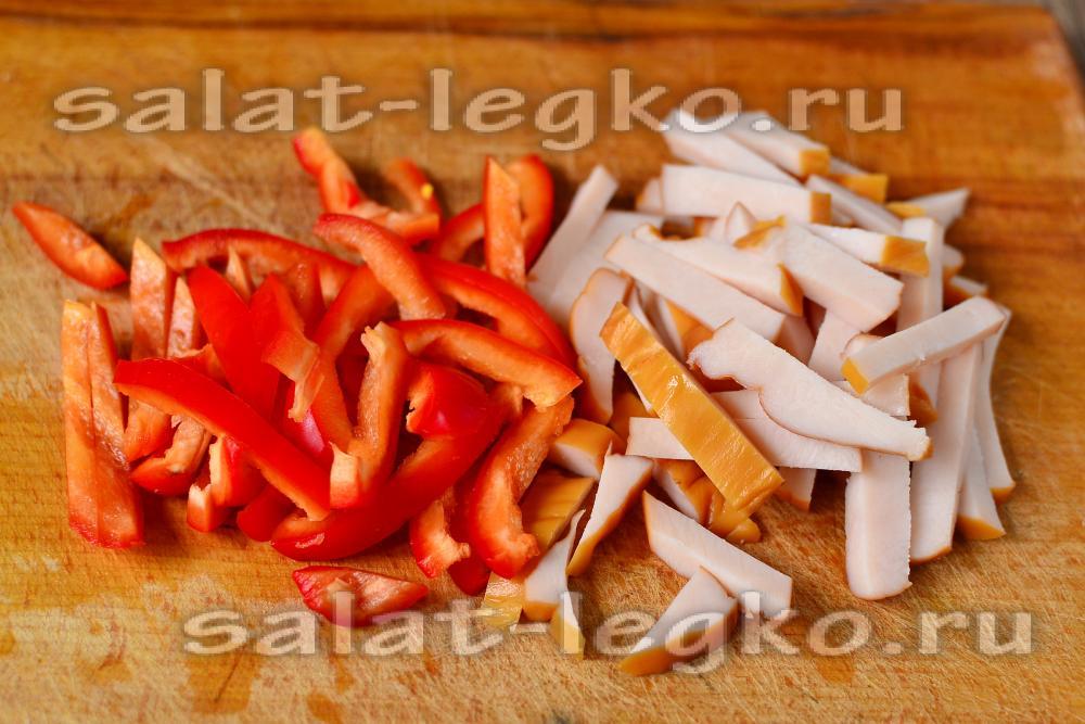 настоящий рецепт салата цезарь с курицей