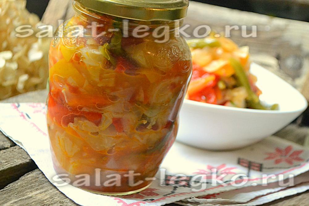 рецепт салата из цветной капусты с уксусом