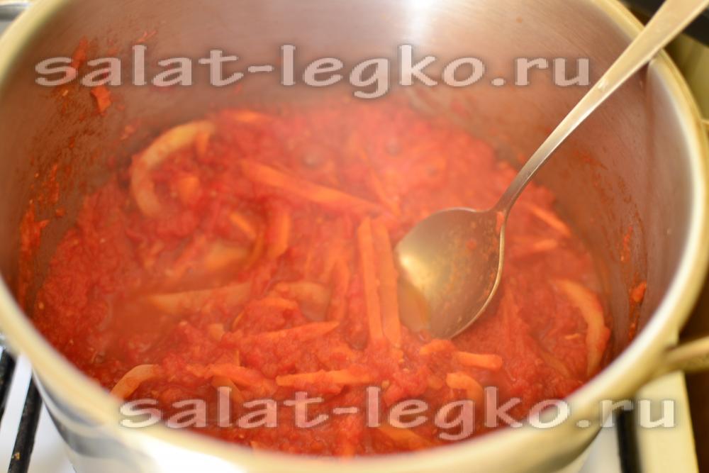 салат из баклажан рецепт с фото очень вкусный