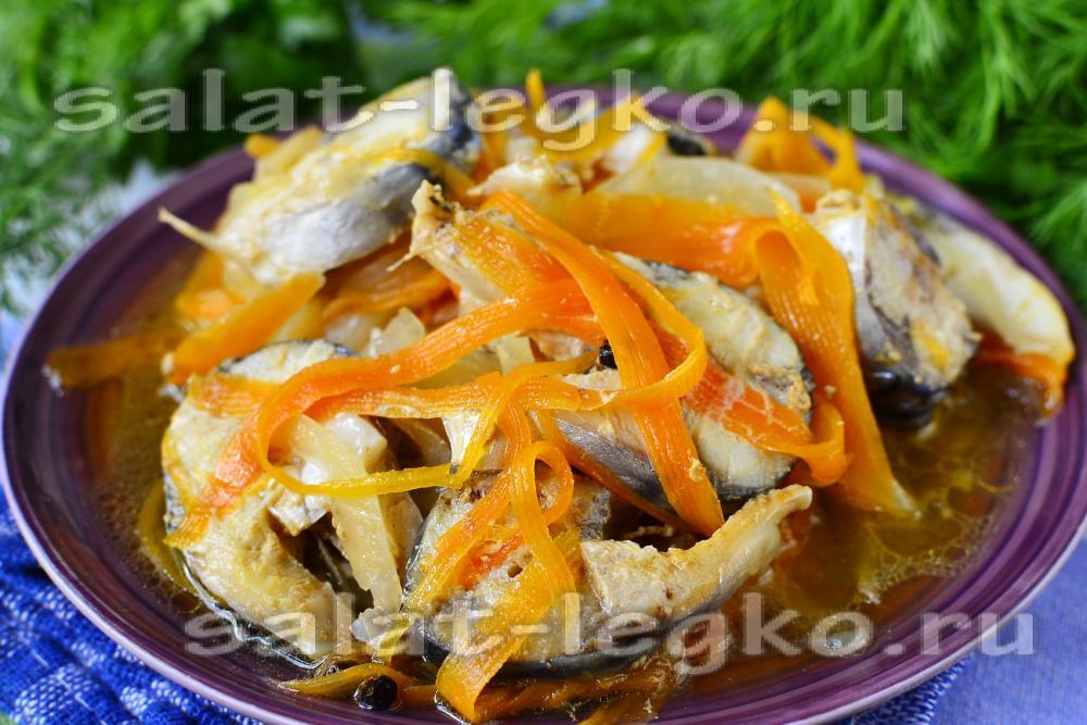 Салат рыбный из консервыы с фото простые и вкусныеы фото