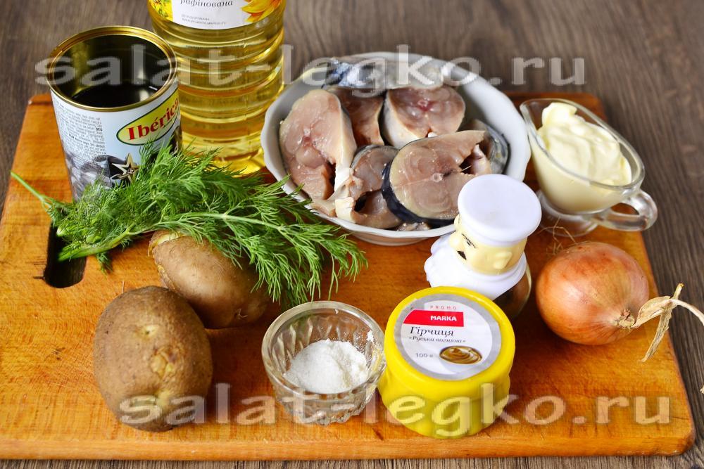 рецепт приготовления из свежей скумбрии
