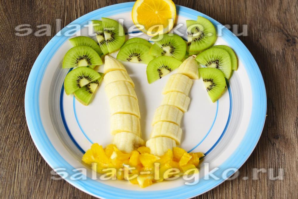 Как сделать салат из фруктов