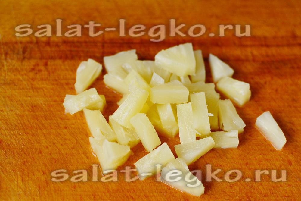 Салат с курицей грибами яйцом и огурцом рецепт 141