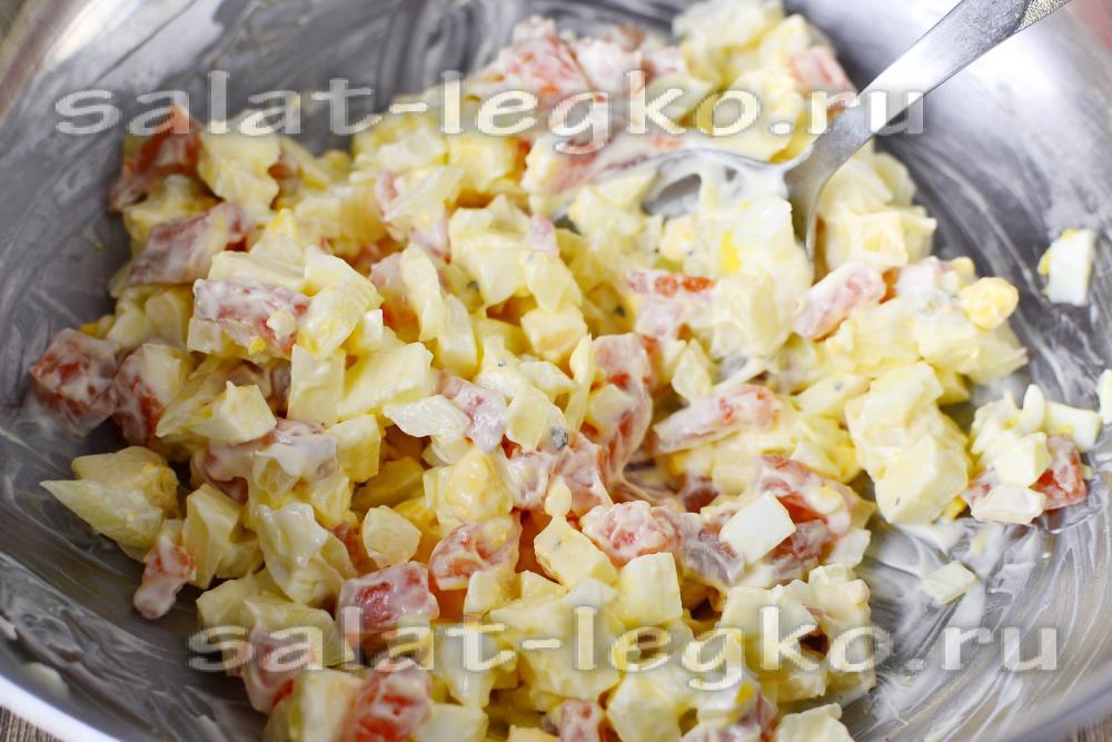 Рецепты салатов со слабосоленой форелью