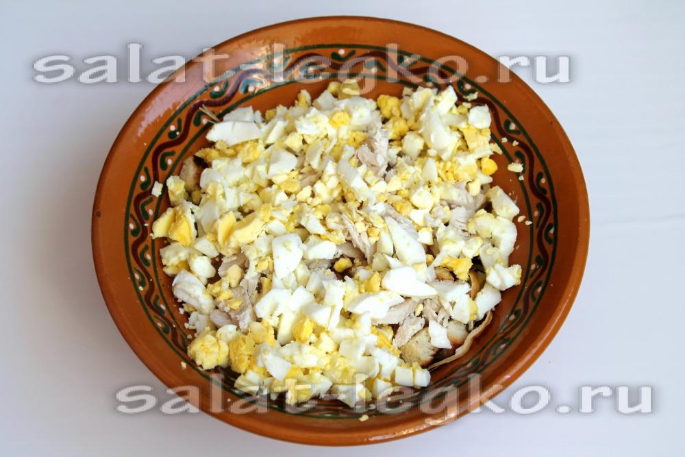 Салат с плавленным копченым сыром рекомендации
