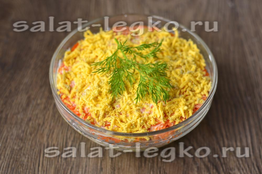 салат мимоза с картофелем без моркови рецепт
