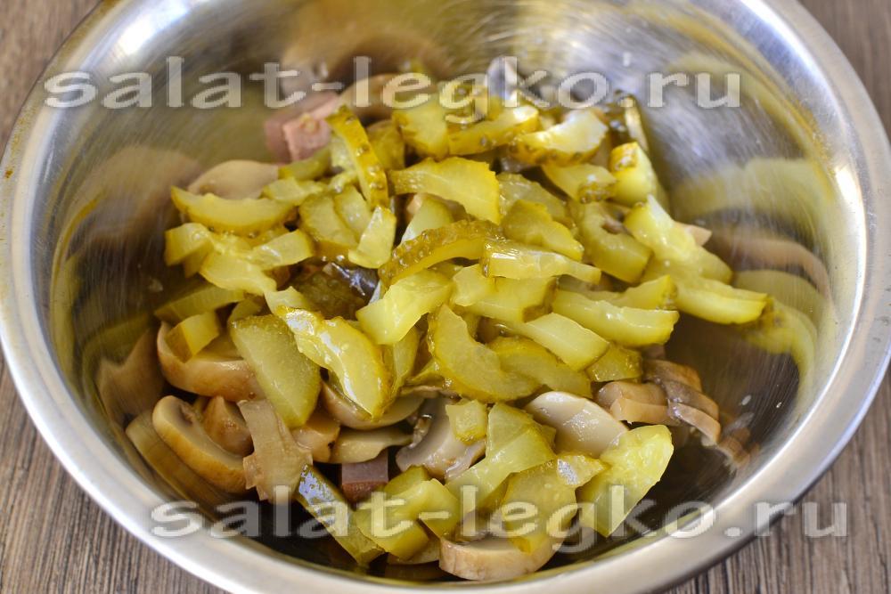 салат из говяжьего языка рецепт с фото очень вкусный