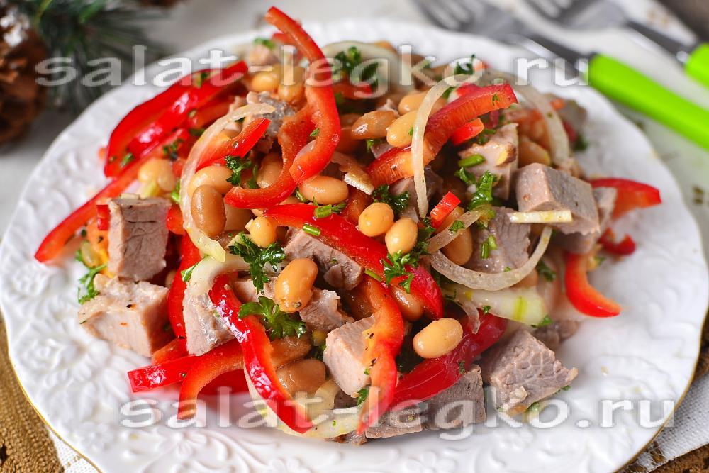 салаты в картинках рецепты с фото