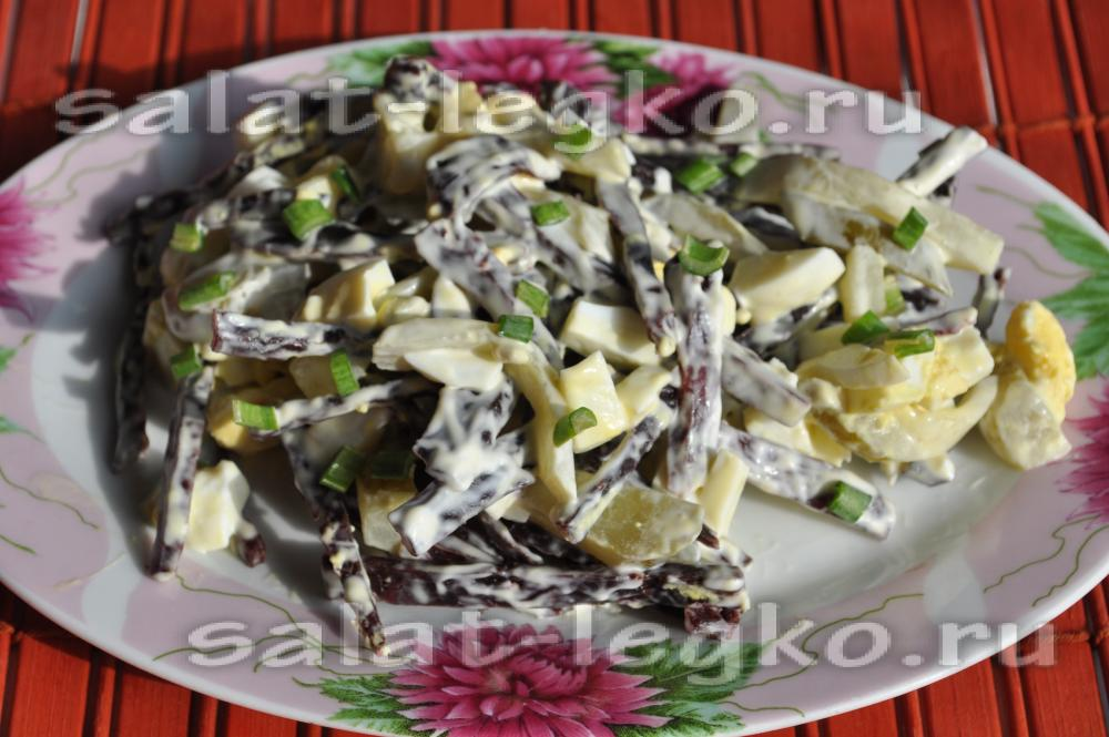 Салат из ничего рецепт