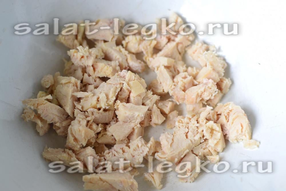 салат гнездо глухаря рецепт фото с перепелиными яйцами