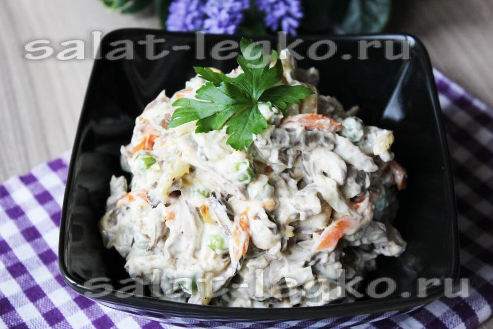 Салат сердечный рецепт фото