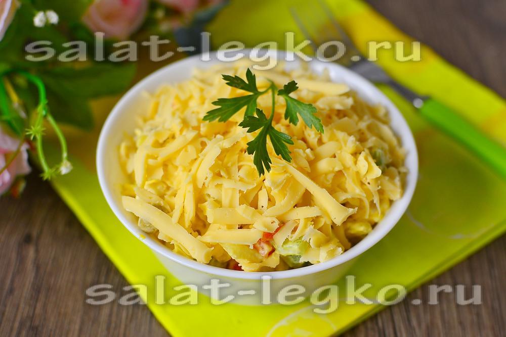 салат кураж рецепт с фото