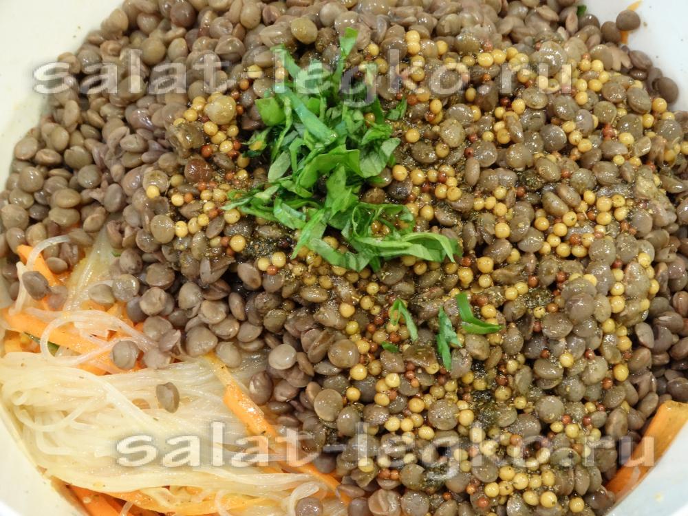 рецепт салата из фасоли и свежего огурца